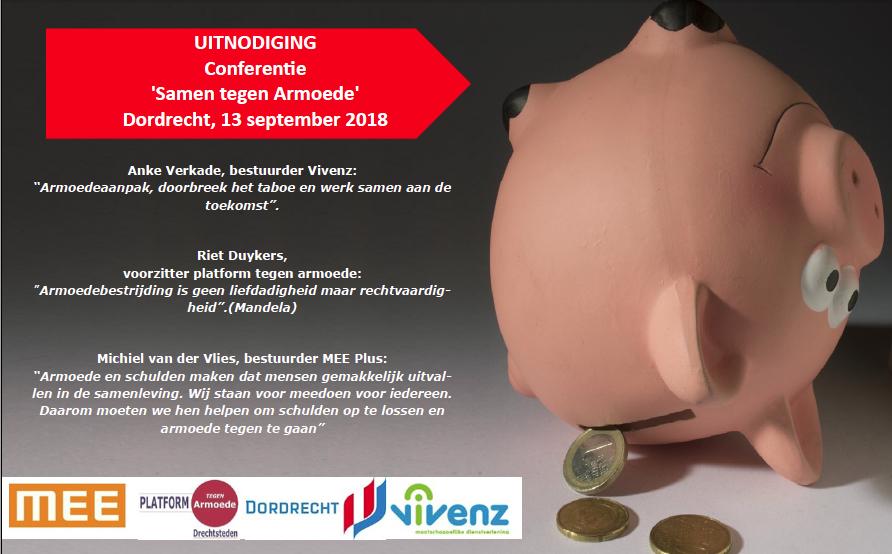 13 September 2018 – Conferentie ' Samen tegen Armoede'