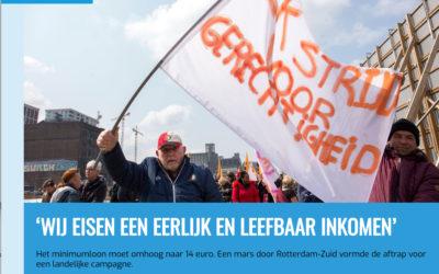 FNV: 'Wij eisen een eerlijk en leefbaar inkomen'