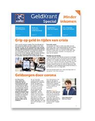 Nibud lanceert de Geldkrant-special vanwege coronacrisis